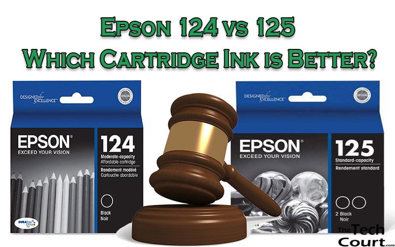 Epson 124 vs 125