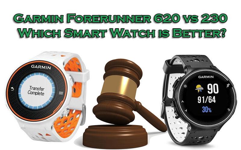 Garmin Forerunner 620 vs230