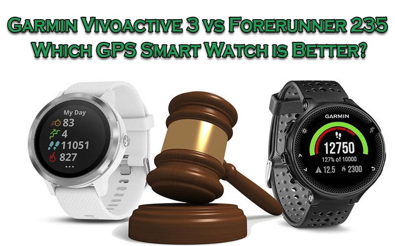 Garmin Vivoactive 3 vs Forerunner 235