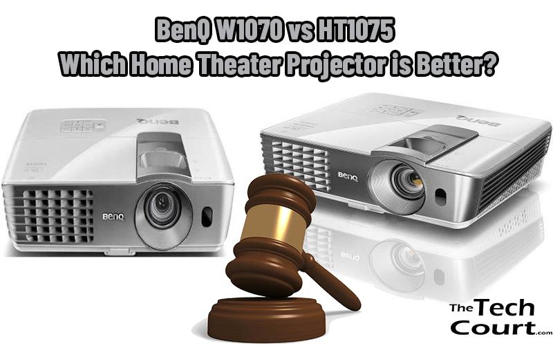 BenQ W1070 vs HT1075
