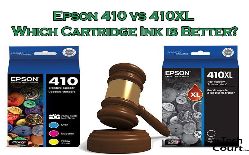 Epson 410 vs 410XL