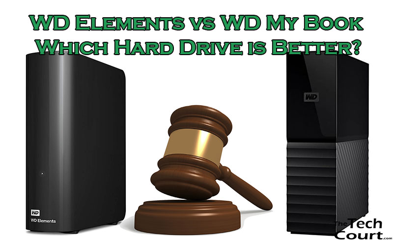 WD Elements vs My Book