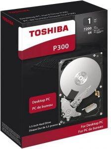 Toshiba P300 Comparison