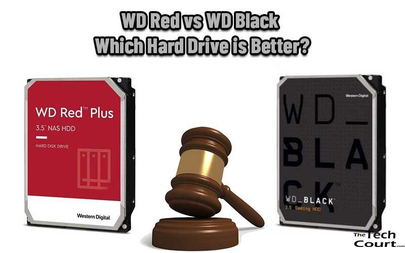 WD Red vs WD Black