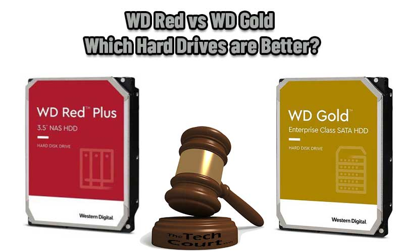 WD Red vs WD Gold