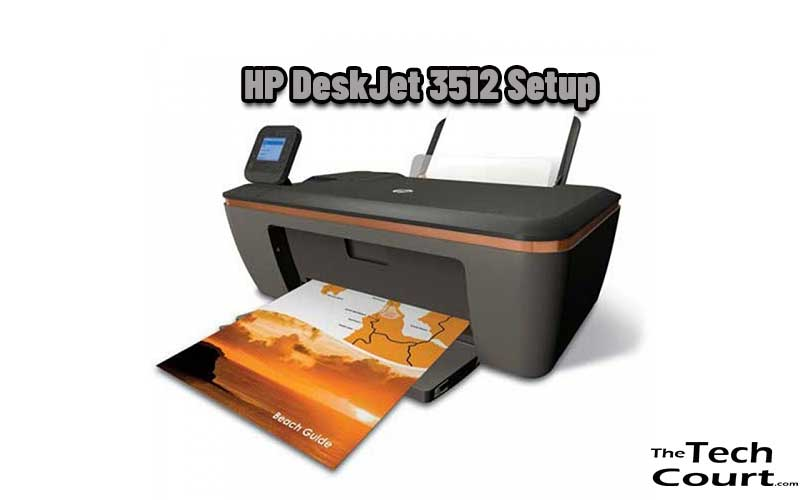 HP DeskJet 3512 Setup