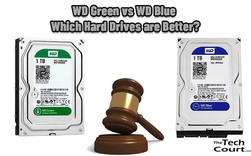 WD Green vs WD Blue