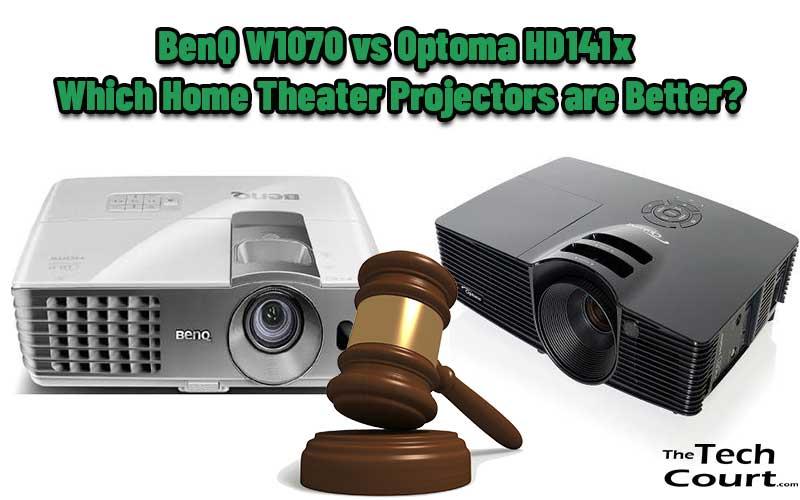 BenQ W1070 vs Optoma HD141x