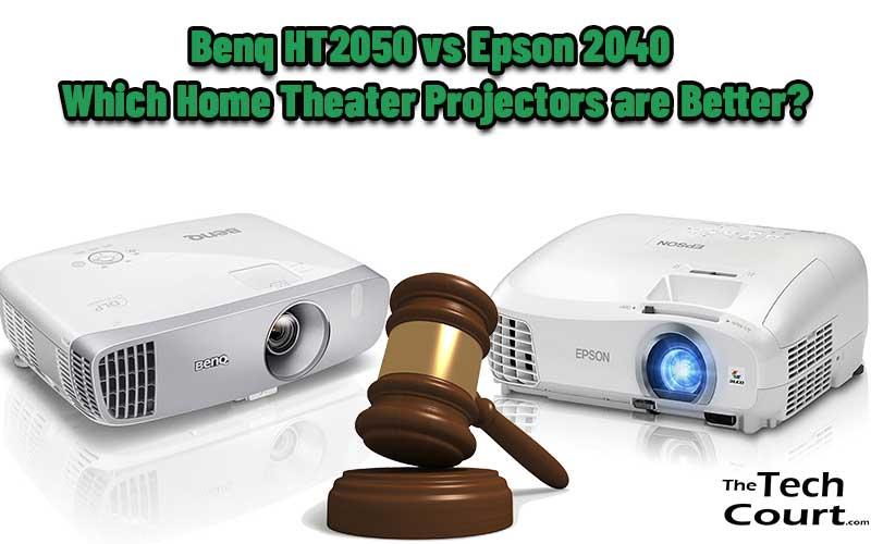 Benq HT2050 vs Epson 2040