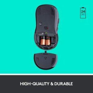 Logitech MK710 battery life