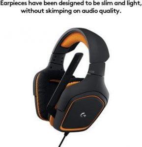Logitech G231 gaming headset