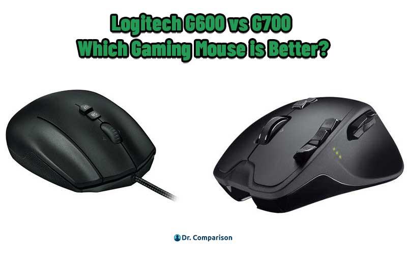 Logitech G600 vs G700