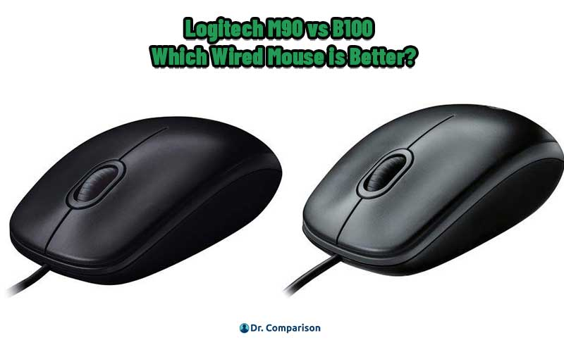 Logitech M90 vs B100