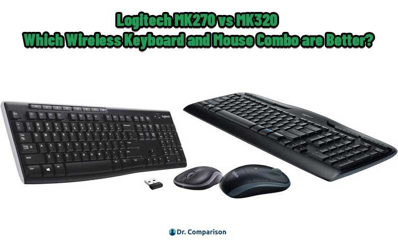Logitech MK270 vs MK320