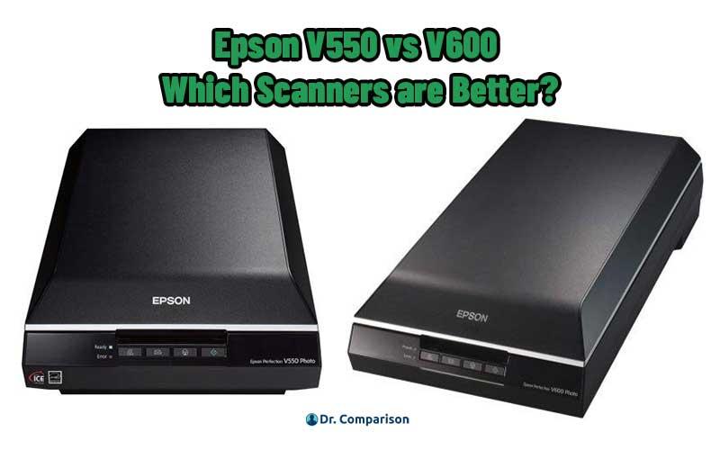 Epson V550 vs V600