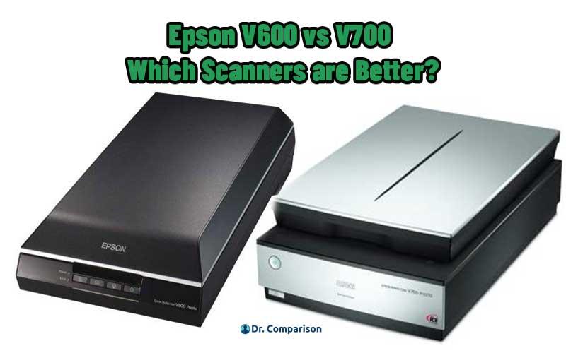 Epson V600 vs V700