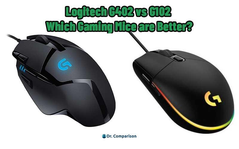 Logitech G402 vs G102