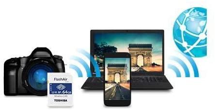Toshiba FlashAir comparison