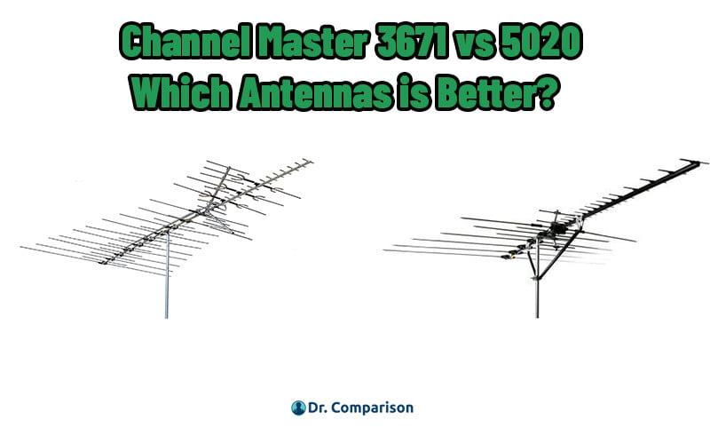 Channel Master 3671 vs 5020