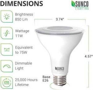 Par30 led bulb review